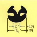 "292 Glass 1/8"" (3.2) Panel 1/8"" (3.2) Min Bend Rad 2 5/16""(59)"